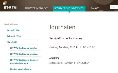 Journalservice